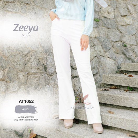 Zeeya Pants AT1052 (White)