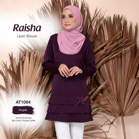 Raisha Layer Blouse AT1064 (Purple)