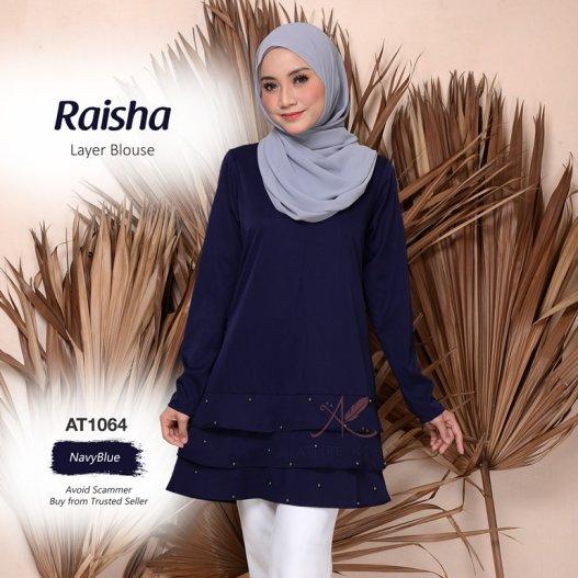 Raisha Layer Blouse AT1064 (NavyBlue)