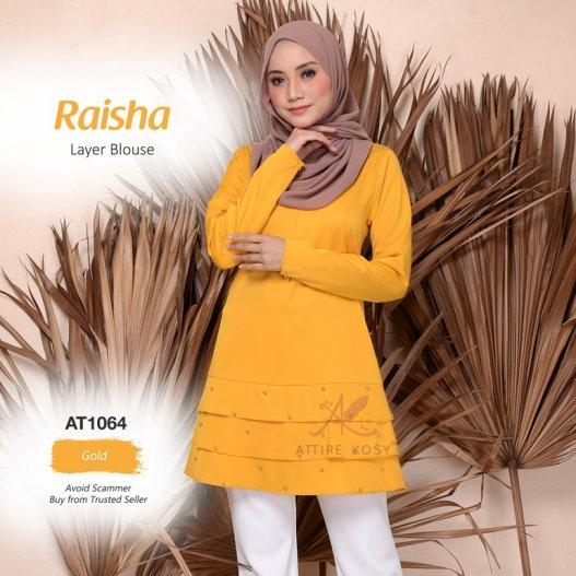 Raisha Layer Blouse AT1064 (Gold)