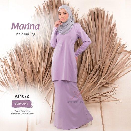 Marina Plain Kurung AT1072 (SoftPurple)