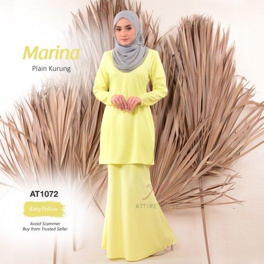 Marina Plain Kurung AT1072 (BabyYellow)