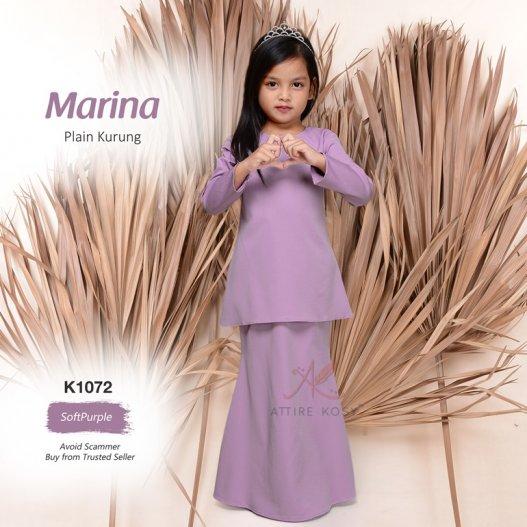 Marina Plain Kurung K1072 (SoftPurple)