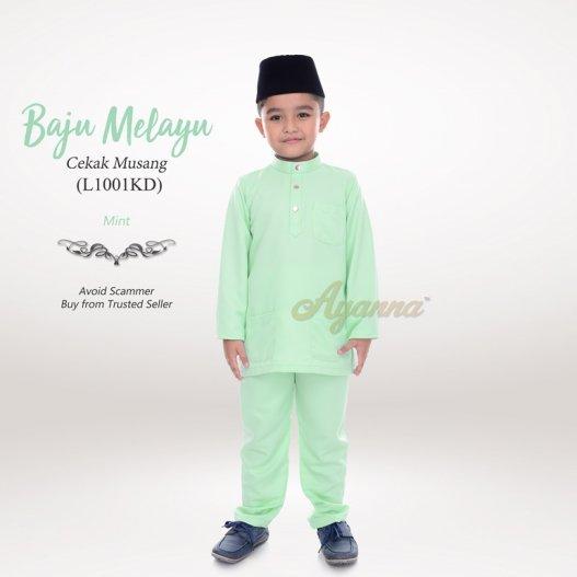 Baju Melayu Cekak Musang L1001KD (Mint)