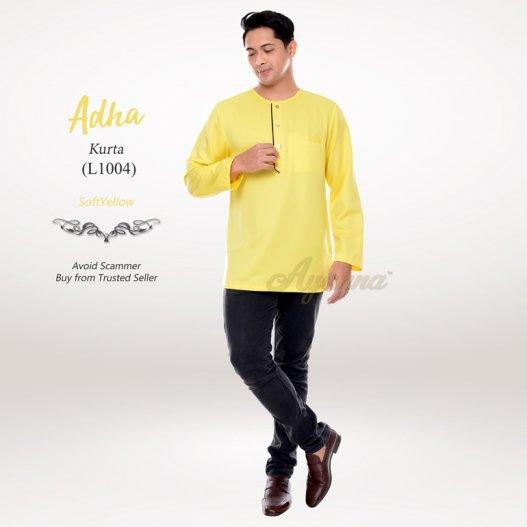 Adha Kurta L1004 (SoftYellow)