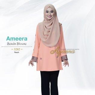 Ameera Beads Blouse 3282 (Peach)