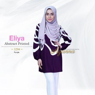 Eliya Abstract Printed 3294 (Purple)