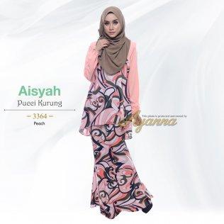 Aisyah Pucci Kurung 3364 (Peach)