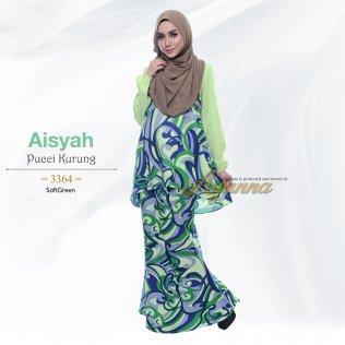 Aisyah Pucci Kurung 3364 (SoftGreen)