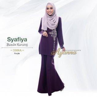 Syafiya Beads Kurung 3309A (Purple)