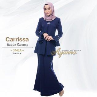 Carrissa Beads Kurung 3343A (DarkBlue)