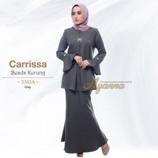 Carrissa Beads Kurung 3343A (Grey)