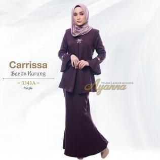 Carrissa Beads Kurung 3343A (Purple)