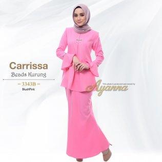 Carrissa Beads Kurung 3343B (BlushPink)