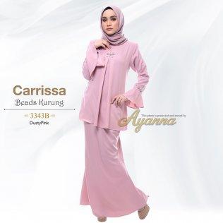 Carrissa Beads Kurung 3343B (DustyPink)