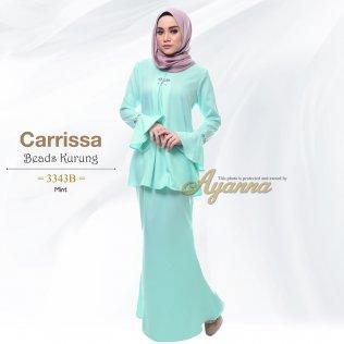 Carrissa Beads Kurung 3343B (Mint)