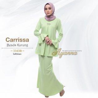 Carrissa Beads Kurung 3343B (SoftGreen)