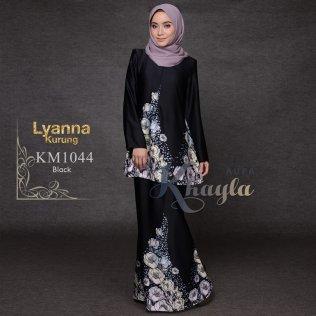 Lyanna Kurung KM1044 (Black)