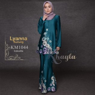 Lyanna Kurung KM1044 (Indicolite)