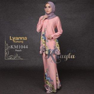 Lyanna Kurung KM1044 (Peach)