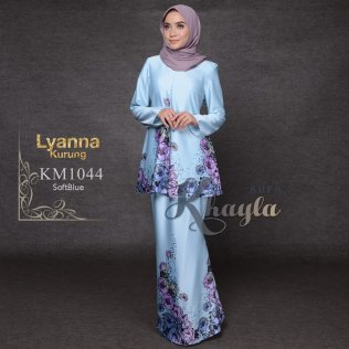 Lyanna Kurung KM1044 (SoftBlue)