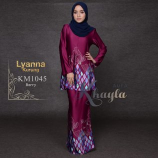 Lyanna Kurung KM1045 (Berry)
