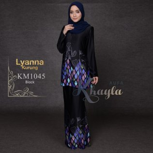 Lyanna Kurung KM1045 (Black)
