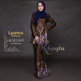 Lyanna Kurung KM1045 (DarkBrown)