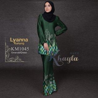 Lyanna Kurung KM1045 (EmeraldGreen)