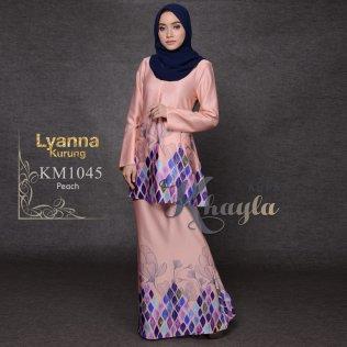 Lyanna Kurung KM1045 (Peach)