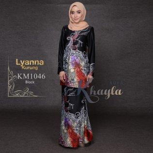 Lyanna Kurung KM1046 (Black)