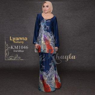 Lyanna Kurung KM1046 (DarkBlue)