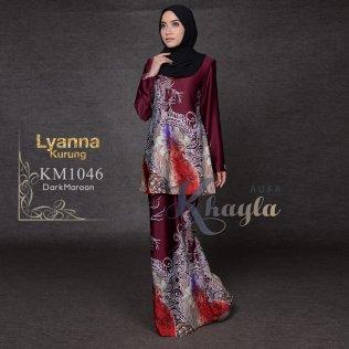 Lyanna Kurung KM1046 (DarkMaroon)