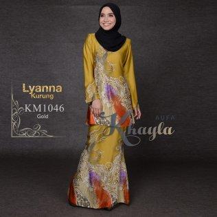 Lyanna Kurung KM1046 (Gold)