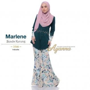 Marlene Beads Kurung 3546 (Indicolite)