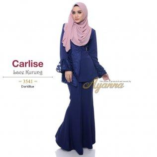 Carlise Lace Kurung 3541 (DarkBlue)
