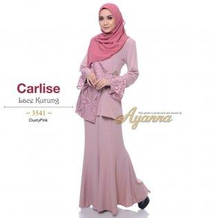 Carlise Lace Kurung 3541 (DustyPink)