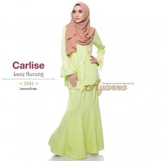 Carlise Lace Kurung 3541 (LemonGrass)