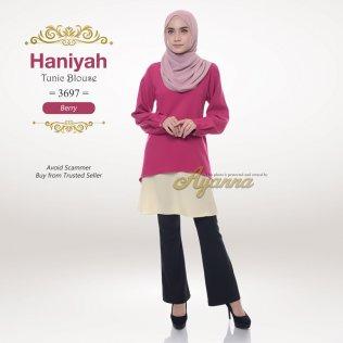 Haniyah Tunic Blouse 3697 (Berry)