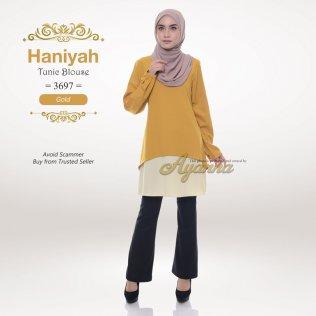 Haniyah Tunic Blouse 3697 (Gold)