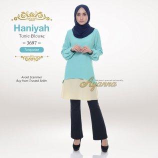 Haniyah Tunic Blouse 3697 (Turquoise)