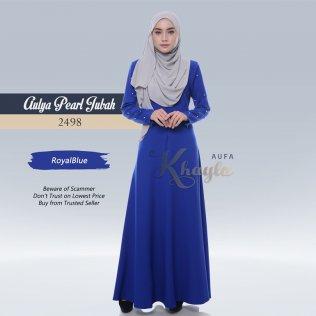 Aulya Pearl Jubah 2498 (RoyalBlue)