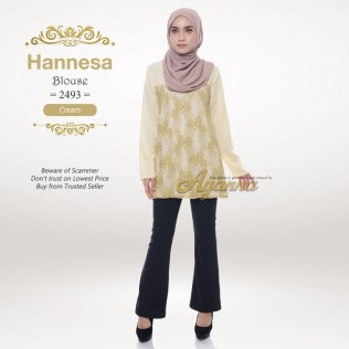 Hannesa Blouse 2493 (Cream)