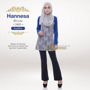Hannesa Blouse 2493 (RoyalBlue)