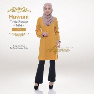 Hawani Tunic Blouse 3696 (Gold)