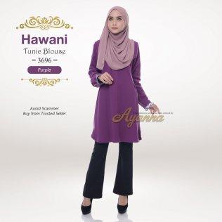 Hawani Tunic Blouse 3696 (Purple)