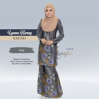 Lyanna Kurung KM1081 (Grey)