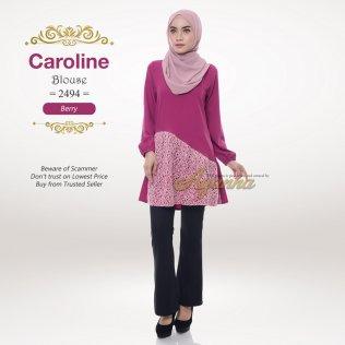 Caroline Blouse 2494 (Berry)