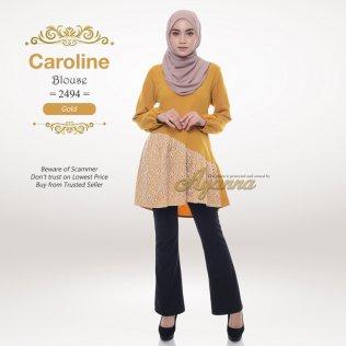 Caroline Blouse 2494 (Gold)