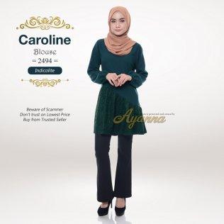 Caroline Blouse 2494 (Indicolite)